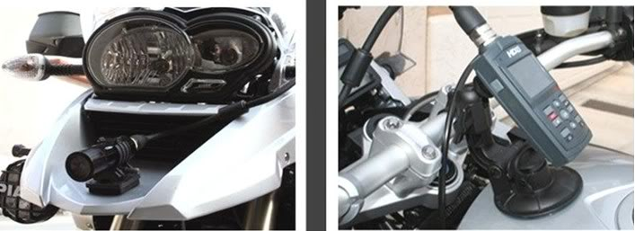 HD with Cable ZEMEX-motorcycle mount