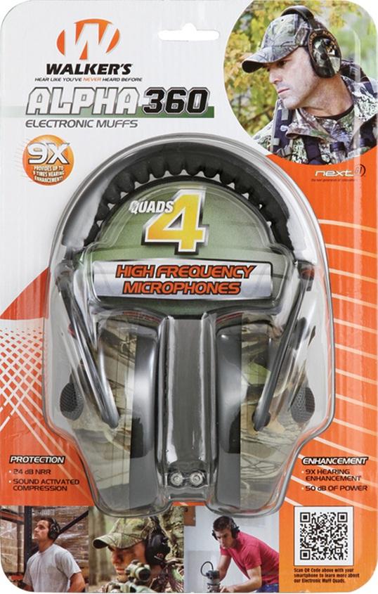 Alpha 360 ear protection