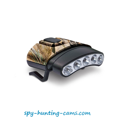 tilt head light camo